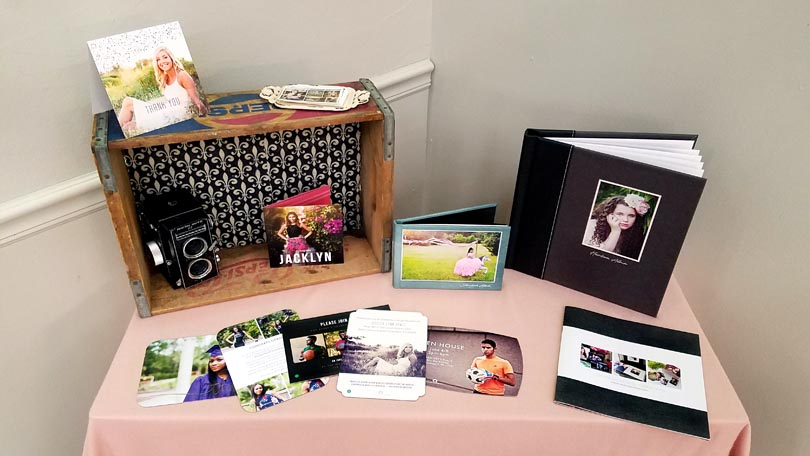 Shannon Hall Photography Senior Products